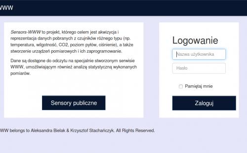 sensory WWW